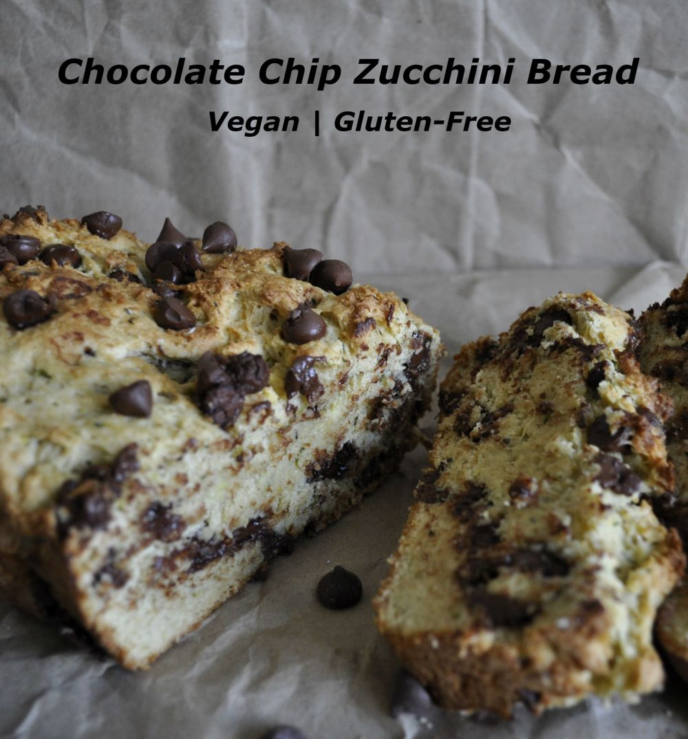 Chocolate Chip Zucchini Bread- Pin worthy